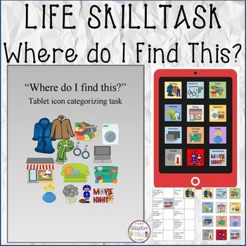 """LIFE SKILL TASK """"Where Do I Find This?"""""""