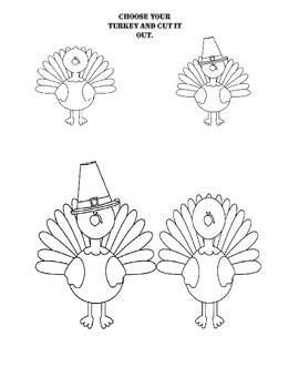 Where Can The Turkey Go?  (Creative Thanksgiving Activity)