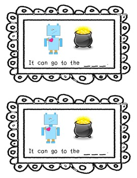 Where Can the Robot Go? A Differentiated -Ot Family Emergent Reader