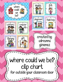 Where Could We Be? Clip Chart
