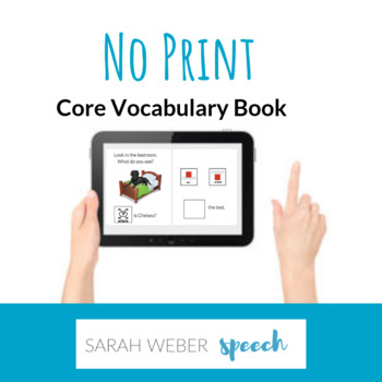 Where- Digital Core Vocabulary Book