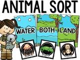 Where Do Animals Live - Animal Sort