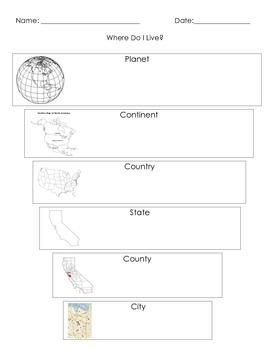 Where Do I Live? (in California)