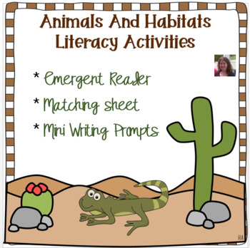 Where Do I Live?  An Emergent Reader of Animals and Habitats