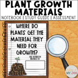 5th Grade NGSS // What Do Plants Need For Growth? // Guided Notebook ONLY