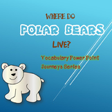 Where Do Polar Bears Live? Vocabulary Power Point