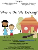 Where Do We Belong? A Problem Solving & Inference Activity