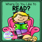 Where Do You Like To Read? (And Building Reading Stamina)