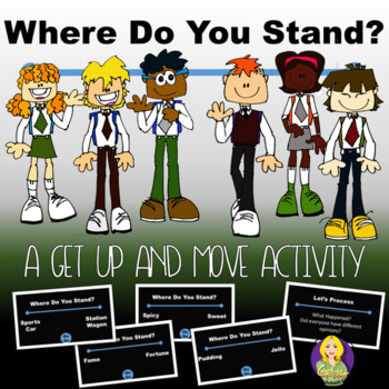 Where Do You Stand-Get Up And Move Activity/Icebreaker
