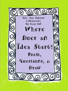 Where Does An Idea Start? Poem, Questions, & Draw