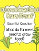 Where Does Food Come From? Journeys Lesson Plans and Supplemental Materials