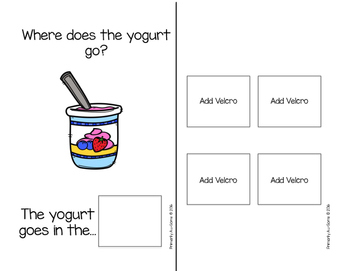 Where Does It Go (An Adapted Book for Putting Away Household Items)