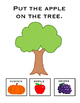 Where Does It Go In Fall? Manipulative adapted  and interactive book for fall