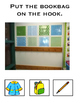 Where Does It Go In School? Interactive Adapted Book for B