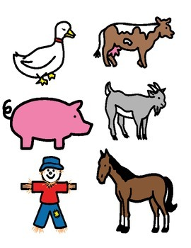 "Where Does The Farm Animal Go? (Adapted, Interactive, ""wh""questions)"