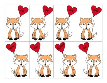 Where Does The Fox Go: A Category Activity