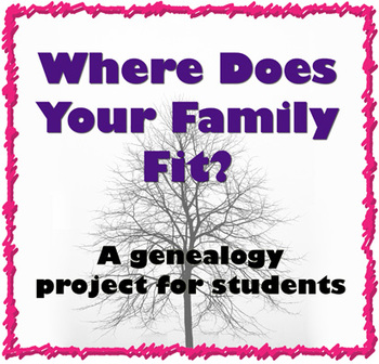 Where Does Your Family Fit? A Family History Project