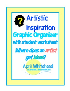 """Where Does an Artist Get Ideas?"" Artistic Inspiration Graphic Organizer"