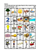 Where Does it Go? - Vocabulary Cut and Paste Activities 1-100