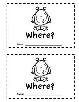 """Where"" Emergent Reader"