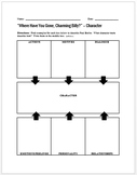 """""""Where Have You Gone, Charming Billy?"""" Character Worksheet"""