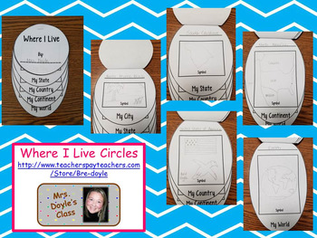 Where I Live Circles Worksheets Teaching Resources Tpt Let us know what's wrong with this preview of where do i live? where i live circles worksheets