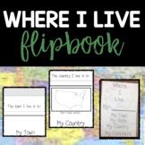 Where I Live Flip Book