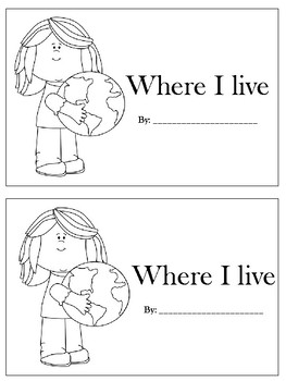 Where I Live! (No Prep)