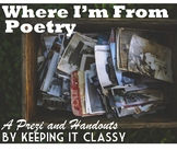 Where I'm From Poetry--A Prezi and Handouts