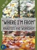 Where I'm From: Poetry Analysis and Writing Workshop