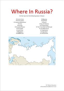 Where In Russia?