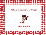 Where In The World Is Waldo- Atlas Activity