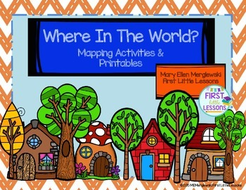 Map Skills: Where In The World Mapping Activities