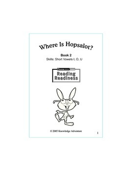 Where Is Hopsalot...Book 2