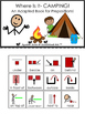 Where Is It? CAMPING! An Adapted Book for Prepositions
