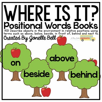 Where Is It? Positional Words Books
