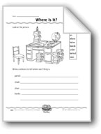 Where Is It? (Prepositional Phrases Using 'Where')