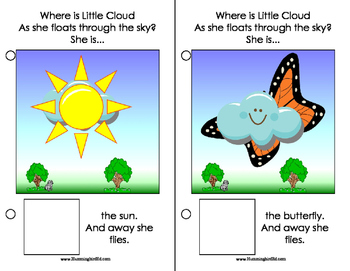 Where Is Little Cloud? An Adapted Interactive Book