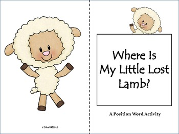 """ESL Activity: A Positional Word Activity""""Where Is My Littl"""