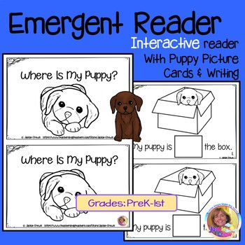 Where Is My Puppy? Interactive Reader w/Picture Support & Writing