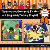 Thanksgiving Emergent Reader and Disguise a Turkey Project