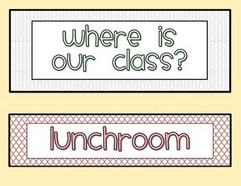 Where Is Our Class Chart