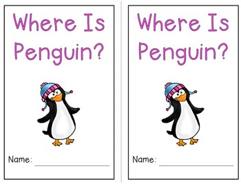 Emergent Reader Bundle - Where is Penguin