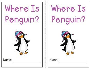 Emergent Reader Bundle - Where is Penguin
