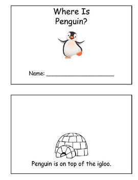 Where Is Penguin? Book of Prepositions