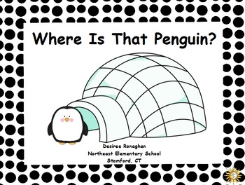 Where Is That Penguin? An Activeboard Math Center Activity (K.G.1)