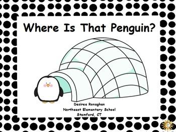 Where Is That Penguin? An Activeboard Math Center Activity (K.G.1)