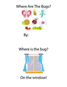 Where Is The Bug? Emergent Reader with Preposition Practice