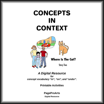 Where Is The Cat - 2 - Concepts In Context