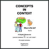 Where Is The Cat - 6 - Concepts In Context